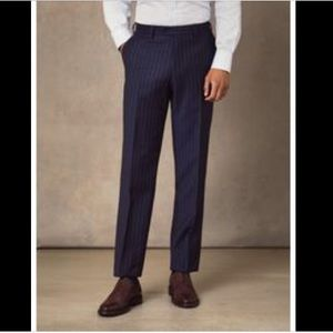 NWT Brooks Brothers Red Fleece charcoal wool pants